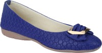 Party Girl Casual Bellies For Women(Blue)