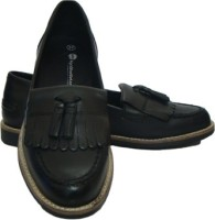ASM Genune Leather Formals Shoes Corporate Casuals(Black)