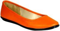 Stylar Katrina Bellies For Women(Orange)