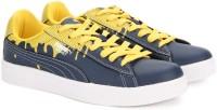 Puma Basket City DP Sneakers For Men(Blue, Yellow)