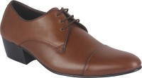 Shoe Bazar Oxfords Lace Up Shoes For Men(Tan)