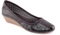 Kielz Ladies Footwear Wedges Belly Bellies For Women(Black)