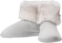Dearfoams Bootie Boots For Women(White)