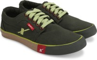 Sparx Canvas Sneakers For Men(Olive)