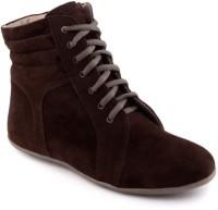 Alexus Boots For Women(Brown)