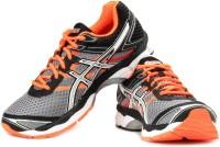 Asics Gel-Cumulus 16 Men Running Shoes For Men(Black, Orange, Grey)