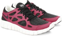 Nike Wmns Free Run+ 2 Ext Running Shoes For Women(Black, Pink, White)