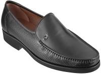 Metro Da Vinchi Slip On Shoes(Black)