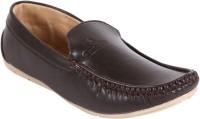QUARKS Loafers For Men(Brown)