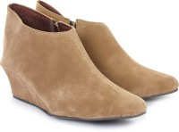 Do Bhai Honey-Brown Wedges Casual Shoes For Women(Brown)