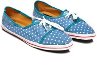 Nell NP-05 Canvas Shoes For Women(Blue)