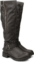 Carlton London Boots For Women(Brown)