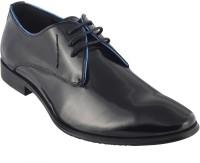 Metro Davinchi Lace Up Shoes For Men(Black)
