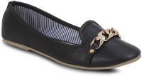 Get Glamr Silvia Bellies For Women(Black)
