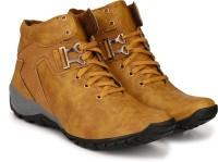 TR Cowboy Boots For Men(Tan)