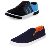 World Wear Footwear Combo-347-486-6 For Men(Multicolor)