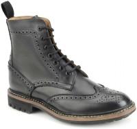 Harrytech London Boots For Men(Black)