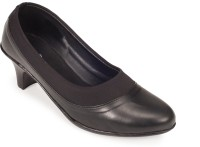 Khadim's Mono Tone Slip On For Women(Black)