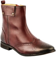 Lee Cooper Women Boots For Women(Maroon)