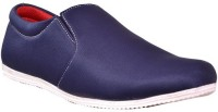 Ajay Footwear Loafers Shoes(Blue)