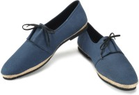Funk Dany Navy Canvas Shoes For Men(Navy)