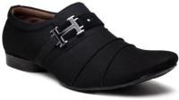 Footista H Party Wear Shoes For Men(Black)