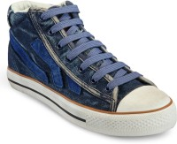 BAGS CRAZE Stylish Shoes BC-ONLS-117 Sneakers For Women(Blue)