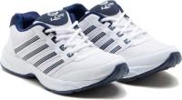 Lancer Hydra-3 Running Shoes For Men(White, Navy)