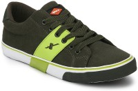 Sparx Canvas Shoes(Green)