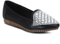 Get Glamr Stylish Casual Shoes For Women(Black)