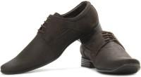 LEE COOPER Men Genuine Leather Corporate Casuals For Men(Brown)