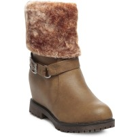 TEN Party & Casual Boot & Uggs Boots For Women(Tan)