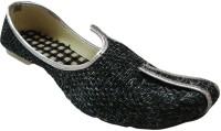 ADS Ethnic Handmade Ethnic Shoes(Grey)