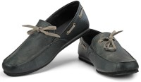 Funk Ping Loafers For Men(Black, Grey)