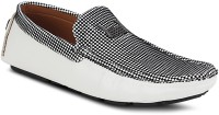 Get Glamr Stylish Loafers For Men(White)