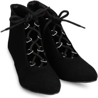Anand Archies Boots For Women(Black)