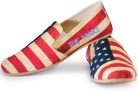 Funk USA FIFA World Cup Loafers For Men(Red, Blue)