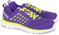 Reebok Z Dual Ride Running Shoes For Women(Purple, Yellow)