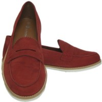 ASM Genune Leather Formals Shoes Corporate Casuals(Red)