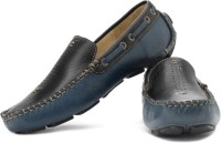 tZaro Bluejazz Loafers For Men(Black, Blue)