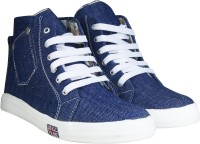 Beonza Denim Jeans Boots(Blue)