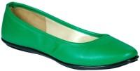 Stylar Katrina Bellies For Women(Green)