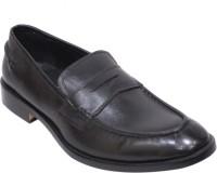 Harrykson Slip On Shoes For Men(Black)