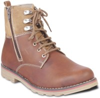 TEN Stylish And Elegant Boots For Men(Brown)