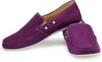 Funk Veck Purple Canvas Shoes For Men(Purple)