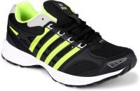 Rich N Topp Swift Black Running Shoes(Black, Green)