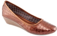 Kielz Ladies Footwear Wedges Belly Bellies For Women(Brown)