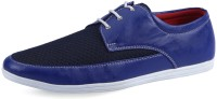 Stud Blue Corporate Casuals For Men(Blue)
