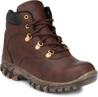 Wave Walk Stylish Boots For Men(Brown, Black)