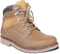 TEN Simple And Elegant Boots For Men(Tan)
